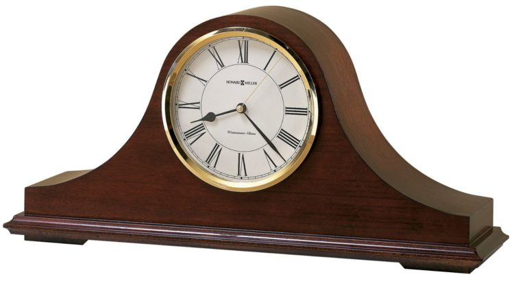 howard miller antique mantel clock