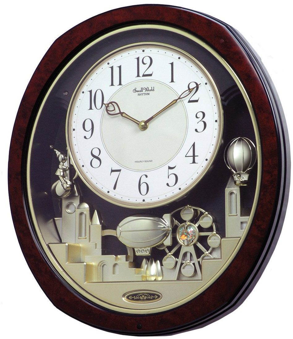 Charming ... Chiming Wall Clock