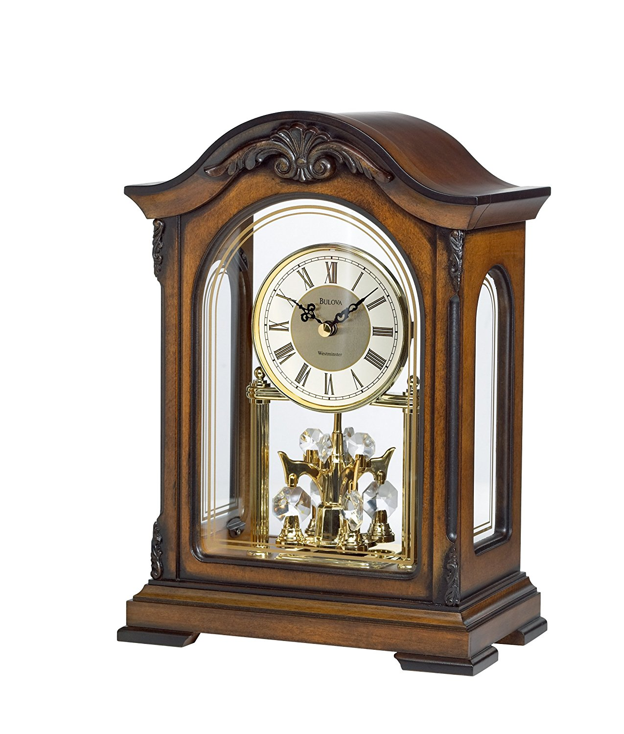 Bulova bardwell mantel clock instructions